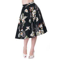 Hell Bunny Black Candy skirt