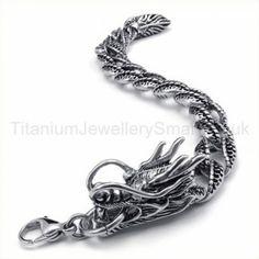 Titanium Dragon Bracelet 19241