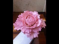 How to Make a Gum Paste Peony - YouTube