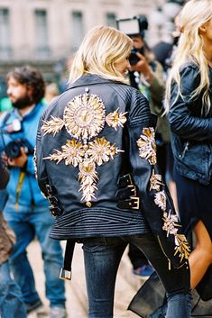 Vanessa Jackman: Paris Fashion Week SS 2015....Elena