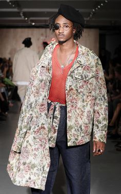 Kingston University postgraduate fashion student Leyman Lahcine's work on the catwalk at the MA Fashion show 2016. Find out more about the show: http://www.kingston.ac.uk/news/article/1721/16-sep-2016-kingston-universitys-ma-fashion-students-showcase-latest-collections-to-industry-experts-on-eve-of-london/?utm_source=Pinterest&utm_medium=Social&utm_campaign=KUPinterest&utm_content=MAfashpinterest