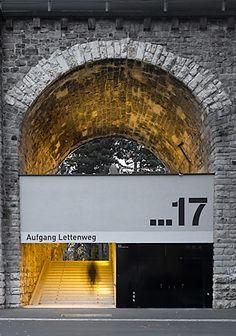 signage and doors / Architekten BSA ETH, Zürich Wayfinding Signage, Signage Design, Facade Design, Branding Design, Environmental Graphic Design, Environmental Graphics, Architecture Old, Architecture Details, Display Design