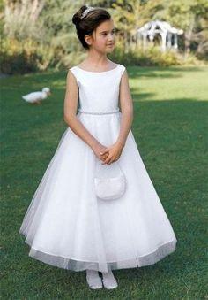 Vestidos de comunión para niñas: Fotos de modelos económicos