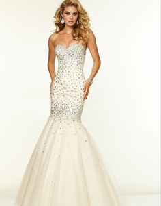 198.99$  Buy now - http://vixjh.justgood.pw/vig/item.php?t=r8lfs9133997 - Mermaid Sweetheart Bridal Gowns Fashion Pageant Prom dress Sequins Evening dress