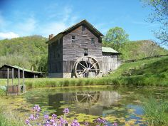 White's Mill, built in 1797,is still in operation, here in Abingdon. It is a water operated flour and grist mill,and is open to the public. It is a national, and a state historic landmark.