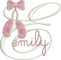 Free Machine Embroidery Monogram Designs | ... Dance Girl Monogram Fonts Alphabet Machine Embroidery Design CD