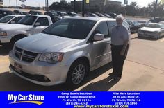 Congratulations Harold on your #Dodge #Grand Caravan from Cody Nelson at My Car Store!  https://deliverymaxx.com/DealerReviews.aspx?DealerCode=OUVL  #MyCarStore