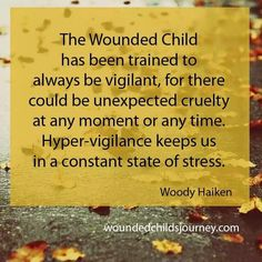 The wounded child #PTSD