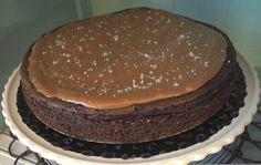 Taart en Zoet!: NY Salted Chocolate Caramel Cheesecake