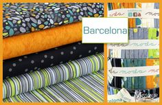 New at the Missouri Star Quilt Company! Barcelona by Zen Chic for Moda
