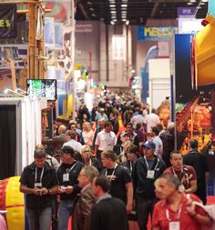 IAAPA Attractions Expo had a lot of BIG things going on. #IAE14 #tradeshows