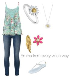 """""""Emma from every witch way"""" by mqweber ❤ liked on Polyvore"""