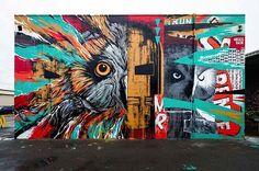 Awesome Graffiti Murals