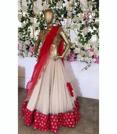 Book ur dress now Completely stitched outfits in all colours like comment share tags For booking ur dress plz dm . Blouse Lehenga, Half Saree Lehenga, Lehnga Dress, Red Lehenga, Anarkali, Dress Skirt, Indian Wedding Outfits, Bridal Outfits, Indian Outfits