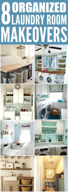 Make Your Own Laundry Room Modern and Creative – Tips and Ideas