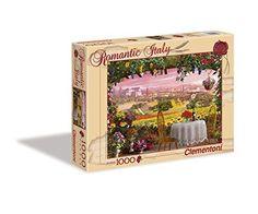 Clementoni Romantic Italy - Tuscany Puzzle (1000 Piece)