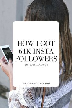 Ideas for how to set your theme, write captions and grow your Instagram following... the RIGHT way! Here are my secrets to getting Instagram followers, starting with how I got 64K in 20 months (and now going on 500,000)!