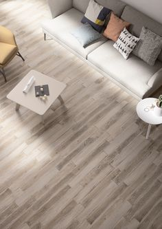 Minoli Tiles - Tree-Age - Tree-Age White by Minoli is a contemporary wood look porcelain tile that can give the power of natural wood with the contemporariness durability and resistance of a porcelain tile. Floor Tiles: Tree-Age White 10 x 70 cm - http://www.minoli.co.uk/tiles/tree-age-white/ -  http://www.thesurfacewithin.co.uk/range/tree-age/white/ - #Minoli #minolitiles #tile #tiles #porcelain #porcelaintile #treeage #white #light #grey #wood #look #woodlook #effect #woodeffect #matt…