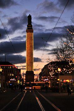 Weihnachtsbeleuchtung in Darmstadt