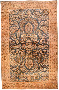 Persian Khorassan carpet - Antique Persian Rug - Antique Rug - BB4624 by Doris Leslie Blau