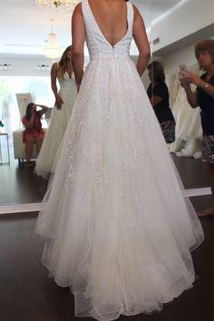 Wedding Dress Shopping at Malindy Elene in Tampa, FL (Anne Barge 'Francoise') Wedding Dress Shopping, Wedding Dresses, Anne Barge, Lace, Fashion, Bride Dresses, Moda, Bridal Gowns, Fashion Styles