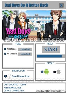 Bad Boys Do it Better Hack & Cheats for All Stages & All Episodes Unlock  #Adventure #BadBoysDoItBetter #Simulation http://appgamecheats.com/bad-boys-do-it-better-hack-cheats/