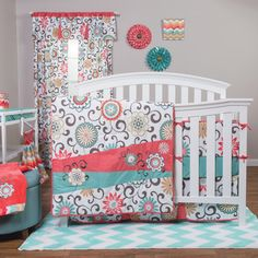 Create the ideal room for your little one with this bedding set from The Peanut…