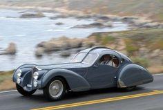 1937 Bugatti Type 57S at Pebble Beach Tour d'Elegance