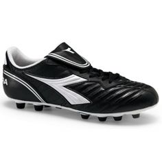 SALE - Diadora Scudetto LT Soccer Cleats Mens Black - Was $56.99. BUY Now - ONLY $42.99