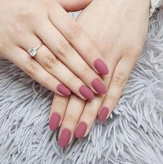 30+ Charming Matte Nail Designs To Try This Fall; Nail designs fall; matte nails for long or short nails; acrylic matte nails; coffin matte nails; round matte nails; ombre matte nails. #beautifulshortnailsdesign