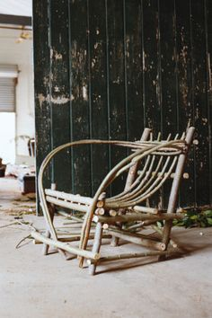 Greg Hatton left Melbourne to get closer to the raw materials he uses in his rustic furniture. Willow Furniture, Funky Furniture, Ikea Furniture, Rustic Furniture, Furniture Making, Furniture Design, Old Hickory Furniture, Buy Furniture Online, Furniture Stores
