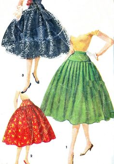 Vintage Sewing Pattern 1950s Simplicity 1086 by paneenjerez, $9.00