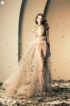 Ziad Nekad Haute Couture Fall-Winter 2013-2014 - Fashion Diva Design