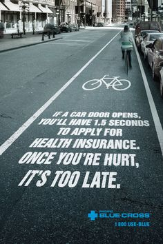 Pacific Blue Cross Health Insurance: Bike Path