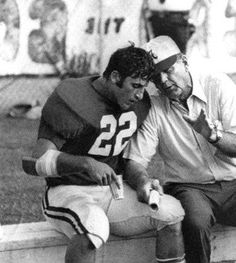 Johnny Musso & The Bear! - Can't have a football board without these two legends!