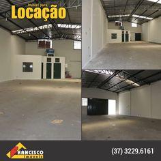 Bairro: Centro  Galpão comercial com área aproximada de 220m², 02 banheiros social, sala, estacionamento para 05 carros, piso em cerâmica e cimento liso.  http://www.franciscoimoveis.com.br/index.php?pagina=locacao&imovel=8922