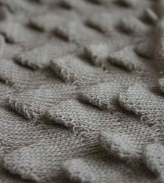 Textural knit sample with scale patterns; 3D knitting; knitwear design detail #textiles