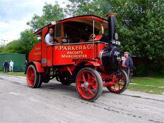 Steam powered machines. ...