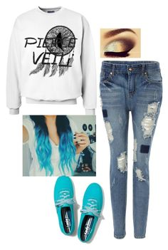 """Untitled #111"" by katzap ❤ liked on Polyvore featuring Keds"