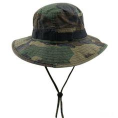 0adbed812f0 Buy Camo Bucket Hats With Strings