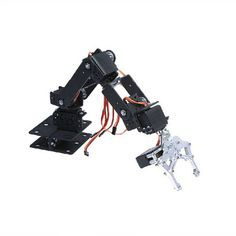 Manipulator 6 direction freedom mechanical robot arm three-dimensional rotation 6 Servo Motor metal gear for Arduino Industrial Robotic Arm, Industrial Robots, Smart Robot, Smart Car, Bras Robot, Arduino, Spider Robot, Intelligent Robot, Educational Robots
