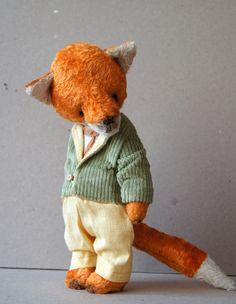 Cute little fuzzy fox