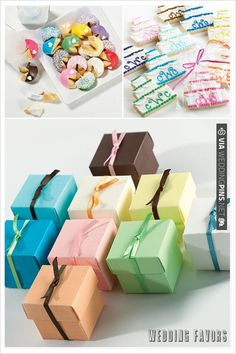 Wedding Favors by Exclusively Weddings | VIA #WEDDINGPINS.NET