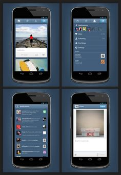 Tumblr improves his version on the mobile phone