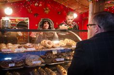 #Danish #pastries at the #Denver Christkindl Market. #German #Christmas village, complete with shops, beer hall and oompah band. All photos by Ken Hamblin. Published on December 3, 2014