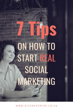 How to start social marketing. - The Kitchen Think Social Media Template, Social Media Design, What Is Social, Management Tips, Social Media Marketing, Restaurants, Kitchen, Blog, Cooking