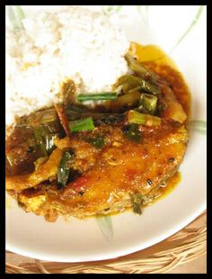 Peyajkoli Maach/ Fish with Green Onion recipe