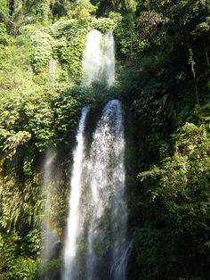 Benang kelambu water fall,lombok island