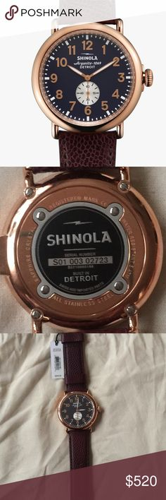 Men SHINOLA The Runwell 47mm Shinola Accessories Watches