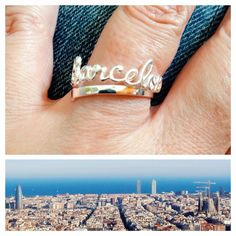 Barcelona ring of 925 Sterling Silver